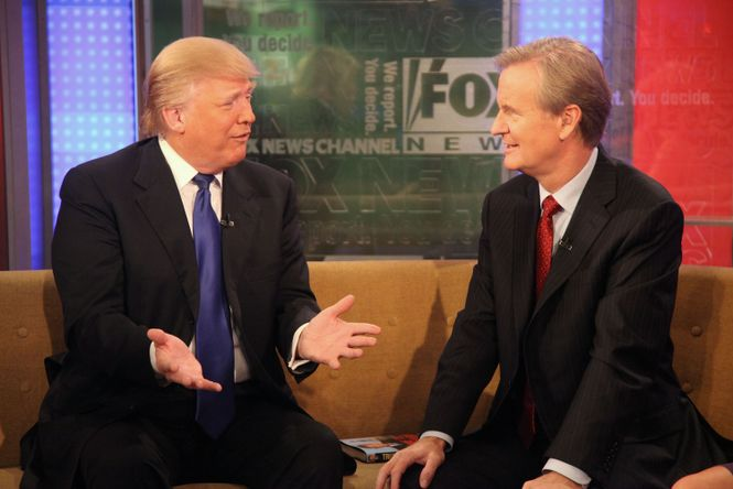 Trump im Fox TV Studio